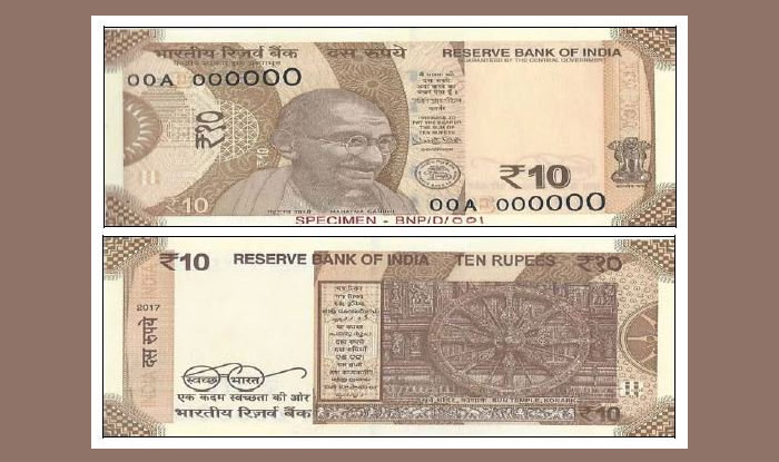 Rs 10 Note Gets Chocolaty