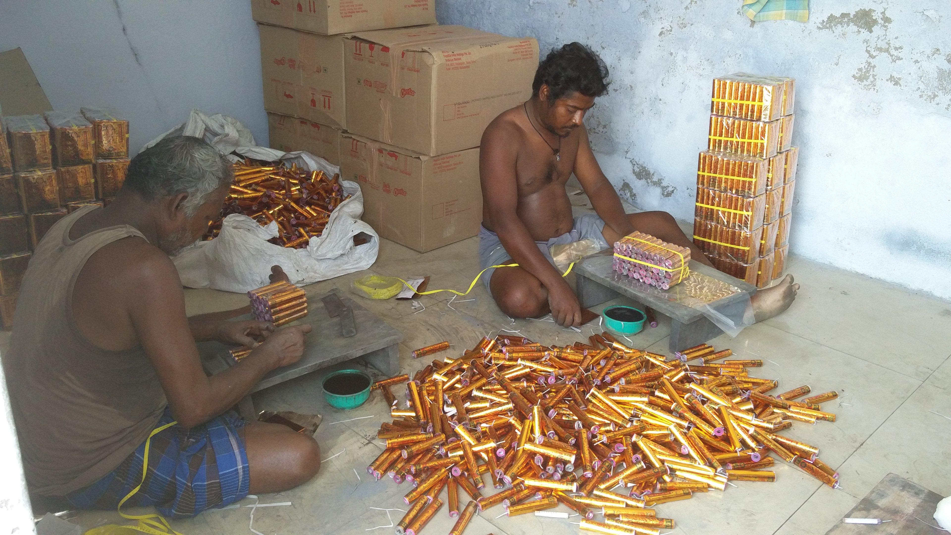 Sale Ban On Firecrackers Leads Sivakasi Unit To Shutdown